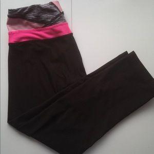 RBX black leggings capri